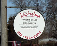 Wackerline Sign